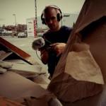 Felix recording @ East Harbour Frankfurt