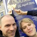 Poster Nacht der Museen 2015 Frankfurt (Night of the Museums)